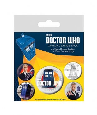 Doctor Who - Badge Pack